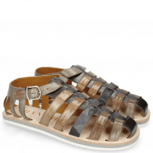 Sandalen Sam 3 London Fog Grigio Camo Stone Oxygen Morning Grey