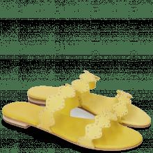 Pantoletten Hanna 45 Verona Yellow LS