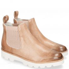 Stiefeletten Selina 37 Vegas Perfo Light Rose