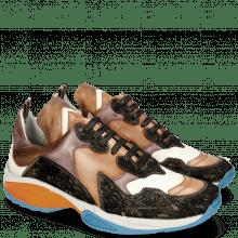 Sneakers Flo 1 Hairon Gold Orange Vegas White Bordo Cherso Bronze