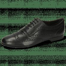 Oxford Schuhe Sonia 1 Nappa Perfo Black LS