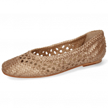 Ballerinas Melly 1  Open Weave Rame