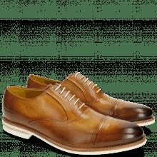 Oxford Schuhe Scott 1 Washed Tan Crip White