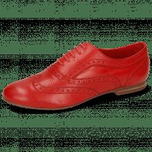 Oxford Schuhe Sonia 1 Nappa Perfo Red