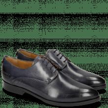 Derby Schuhe Jessy 5 Avio Elastic Navy