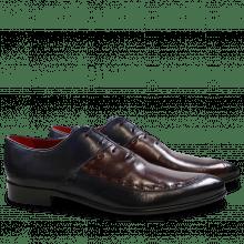 Oxford Schuhe Toni 15 Navy Burgundy LS