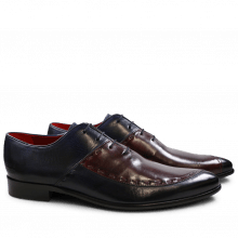 Oxford Schuhe Toni 15 Navy Burgundy LS