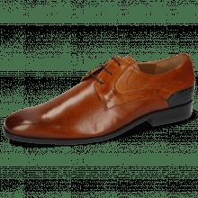 Derby Schuhe Rico 14 Venice Wood Crock Navy