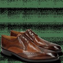 Derby Schuhe Freddy 2 Remo Mid Brown