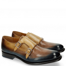 Monk Schuhe Tyler 3 Dark Brown