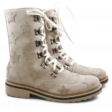 Stiefel Bonnie 7 Suede Mr Touch Rope