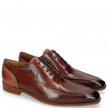 Oxford Schuhe Lance 54 Plum Mock Navy Digital Earthly