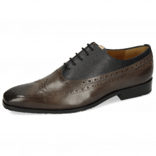 Oxford Schuhe Rico 39 Rio Deep Steel Little Scotch Navy