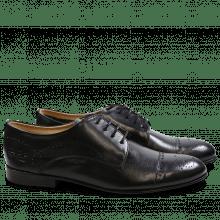 Derby Schuhe Sally 12 Salerno Black LS
