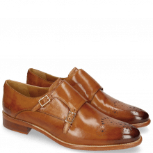 Monk Schuhe Betty 9 Tan Lining Rich Tan Flex