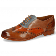 Oxford Schuhe Selina 24 Tan Arancio Satellite Make Up