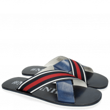 Sandalen Sam 5 Marine Strap Red Blue