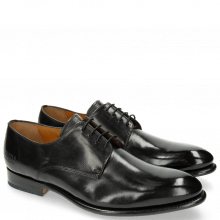 Derby Schuhe Lionel 3 Black LS Brown