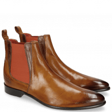 Stiefeletten Toni 6 Camel Dark Brown