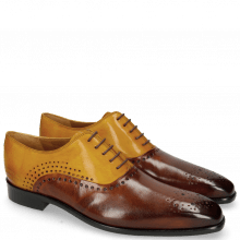 Oxford Schuhe Lewis 41 Wood Yellow