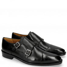 Monk Schuhe Freddy 1 Remo Black