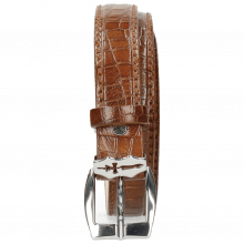 Gürtel Linda 1 Crock Mid Brown Sword Buckle
