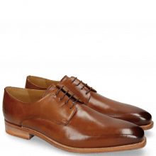 Derby Schuhe Kylian 4 Tan LS Natural
