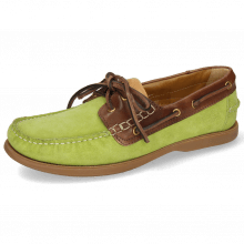 Bootsschuhe Jason 1 Suede Pattini New Grass Rio Mogano