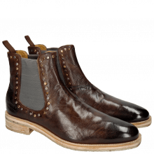 Stiefeletten Tom 2 Milano Dark Brown Rivets