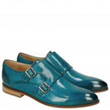 Monk Schuhe Jessy 7 Crust Turquoise LS