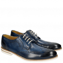 Derby Schuhe Scott 7 Washed Navy