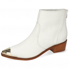 Stiefeletten May 2 Nappa White Zip