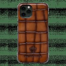 iPhone Hülle Eleven Pro  Turtle Wood Shade Dark Brown