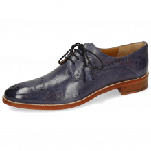 Derby Schuhe Betty 2 Pavia Wind Lining