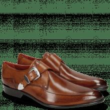 Monk Schuhe Toni 24 Wood Toe Accessory Back