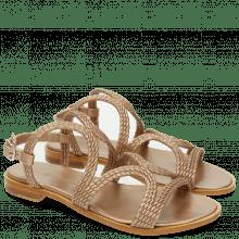 Sandalen Sandra 28 Woven Mesh Rame