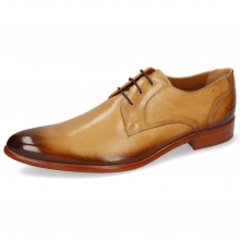 Derby Schuhe Toni 1 Imola Sand Shade Wood