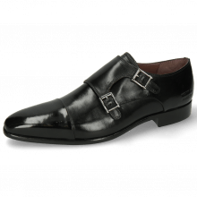 Monk Schuhe Lance 1 Black Lining Purple Flex