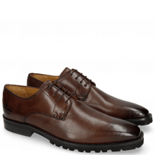 Derby Schuhe Emil 1 Carmen Dark Brown