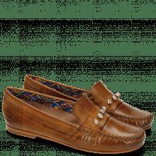Loafers Bridget 3 Milano Tan Rivets