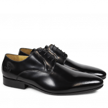 Derby Schuhe Paul 5 Brush Black LS
