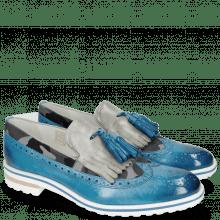 Loafers Eddy 19 Vegas Mid Blue Camo Grey Grigio