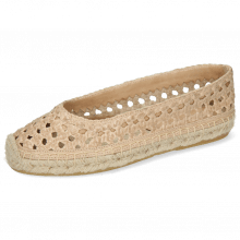 Espadrilles Bree 1 Woven Goat Lime Stone