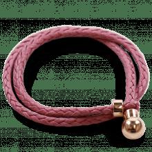 Armbänder Caro 2 Woven Rose Gold Accessory Rose Gold