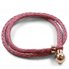 Armbänder Caro 2 Woven Rose Gold Accessory Rose Gold