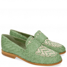 Loafers Ruby 10 Woven Mint