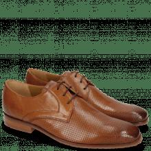 Derby Schuhe Rico 1 Rio Perfo Tan