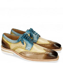 Derby Schuhe Marvin 1 Mid Brown Sol Bluette