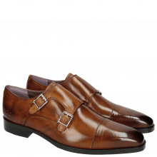 Monk Schuhe Lance 1 Tan HRS Brown