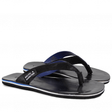 Sandalen Sam 11 Hair On Black Footbed Black Modica Black